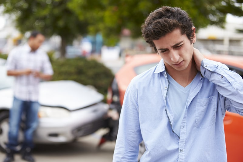 Car accident and whiplash pain